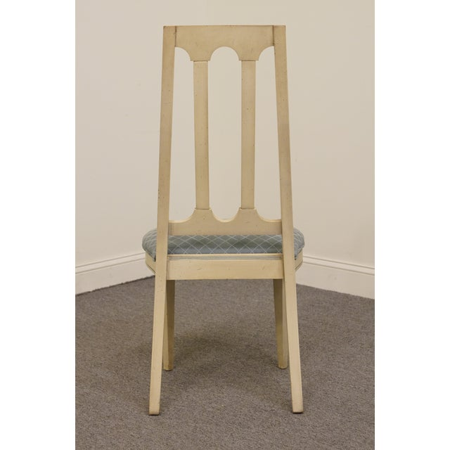 Late 20th Century Vintage American of Martinsville Cotillion Collection French Provincial Chair For Sale In Kansas City - Image 6 of 8