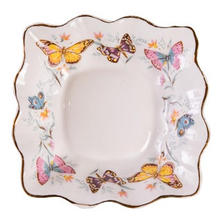 Butterfly Catchall Bone China Dish For Sale