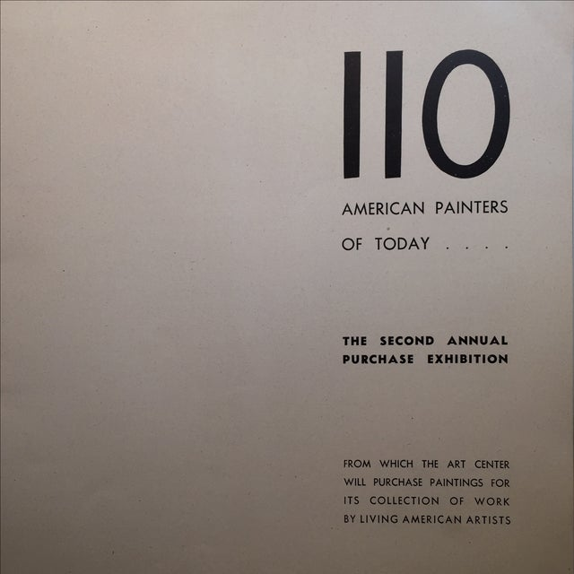 Cubism 110 American Painters of Today, Walker Art Center For Sale - Image 3 of 9