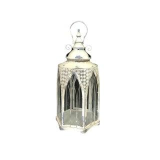 Gothic Style Tole Hurricane Lantern For Sale