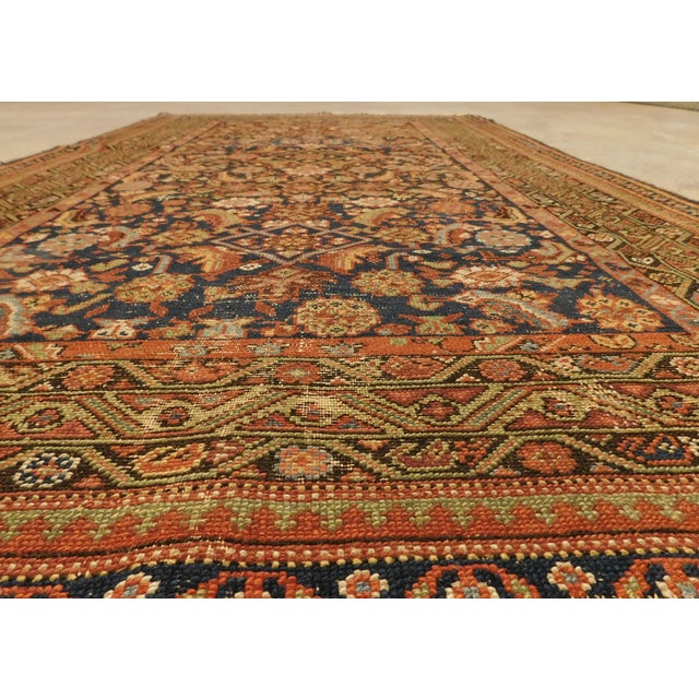 Textile 1900 Antique Persian Fereghan Rug For Sale - Image 7 of 13