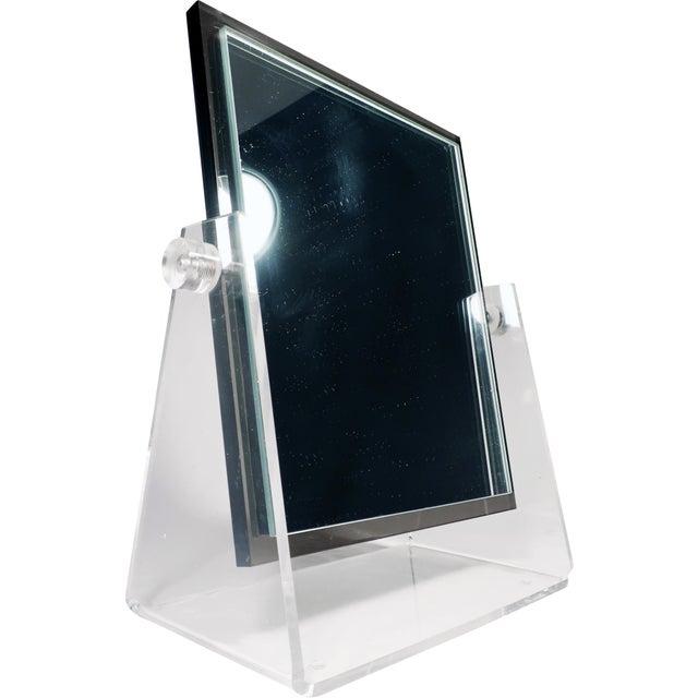 Vintage Lucite Adjustable Tabletop Mirror - Image 2 of 10
