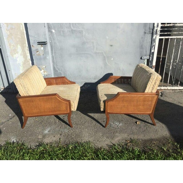 1950s Danish Modern Teak Saber Leg Low Slung Lounge Chairs - a Pair For Sale - Image 11 of 11