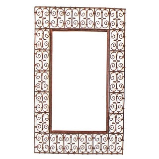 Moroccan Forged Iron Frame For Sale