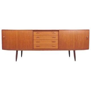 Scandinavian Modern Teak Sideboard by Clausen & Søn For Sale