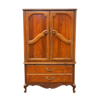 20th Century French Country American of Martinsville Door Chest/Armoire For Sale