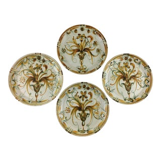 Quimper Keraluc Plates - Set of 4 For Sale
