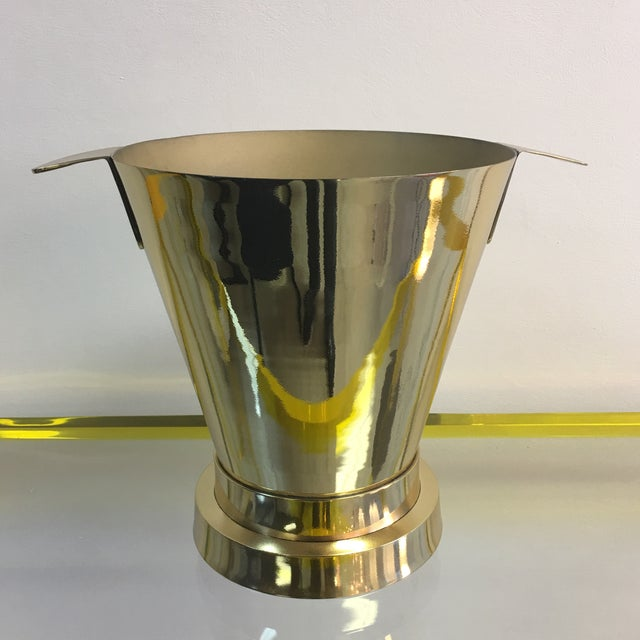 1940's Art Deco Brass Ice Bucket - Image 7 of 7