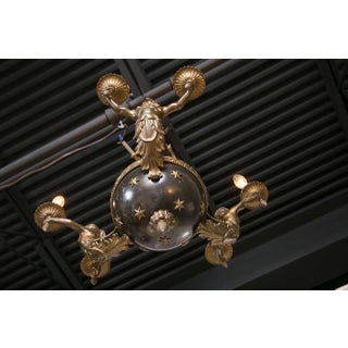 19th Century Swedish Tole and Bronze Chandelier Preview
