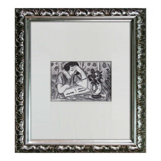 "Henri Matisse ""Young Girl Reading"" Print For Sale"