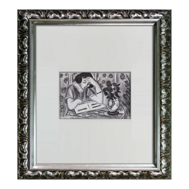 """Henri Matisse """"Young Girl Reading"""" Print For Sale"""