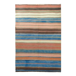 Early 20th Century Persian Zarand Kilim Runner For Sale