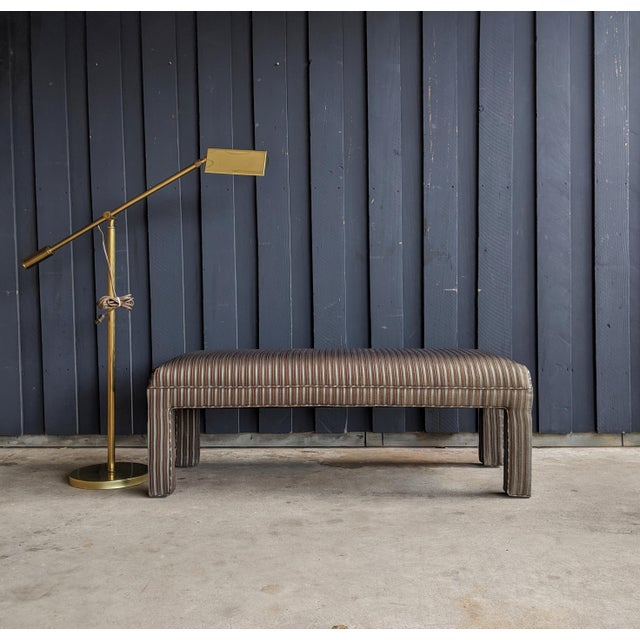 1980s Contemporary Parsons Bench For Sale - Image 9 of 12