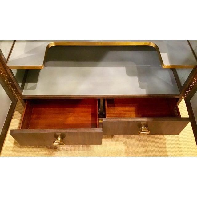 2010s Modern Henredon Bihuber Barclays St. Bar Cabinet For Sale - Image 5 of 10