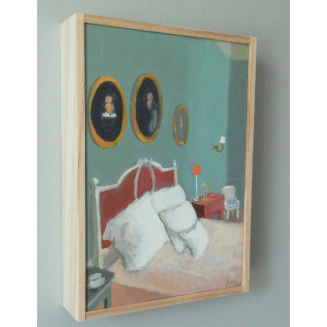 French Country Edith Wharton's Bedroom by Anne Carrozza Remick For Sale - Image 3 of 6
