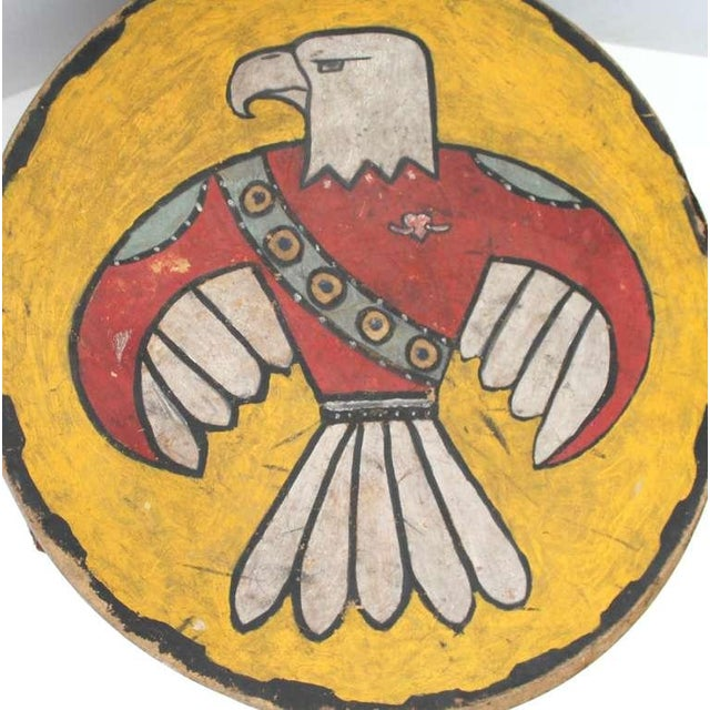 Early 20th Century Pueblo de Cochiti Ceremonial Drum For Sale - Image 5 of 8