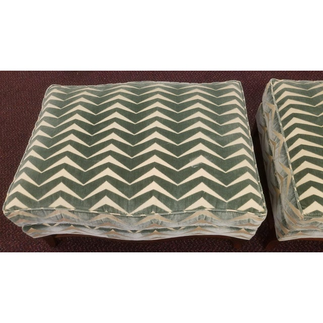 Early 21st Century Classic Donghia Victoire Ottomans - a Pair For Sale - Image 5 of 13
