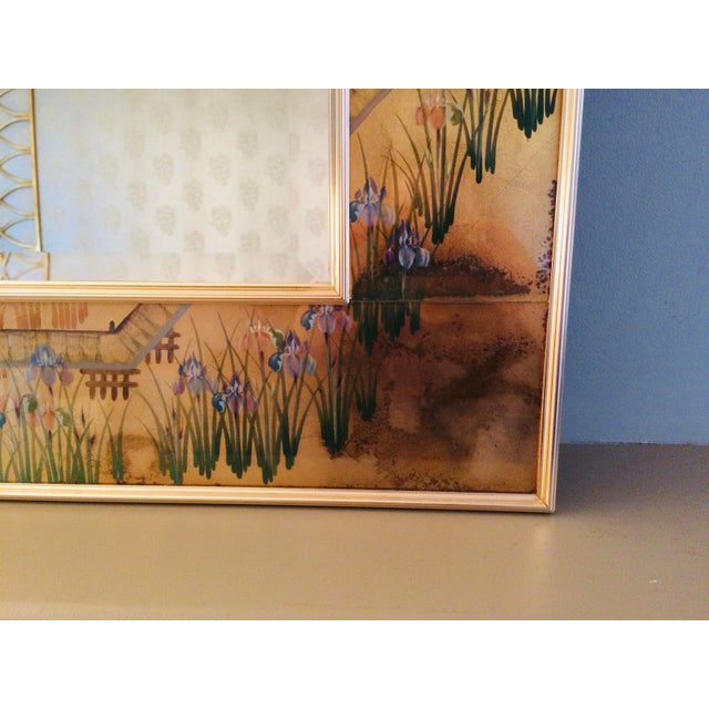 1980s 1980s La Barge Chinoiserie Mirror For Sale - Image 5 of 13
