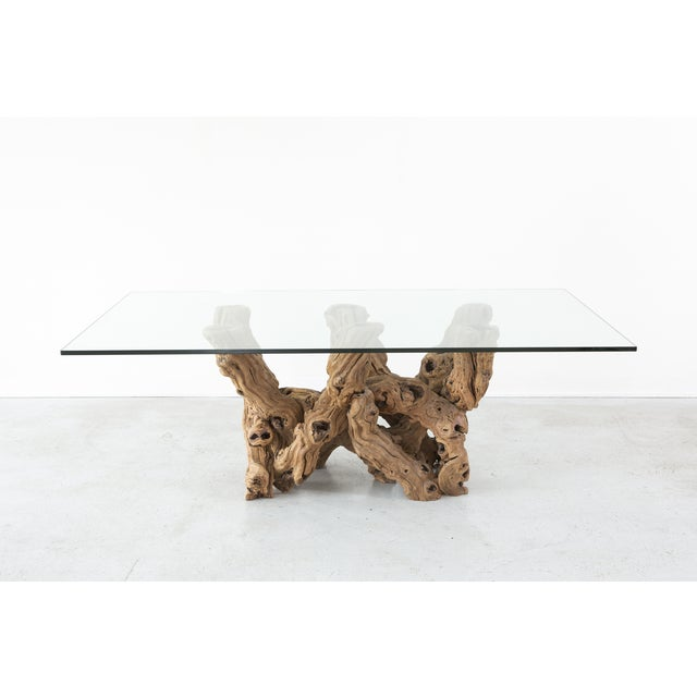 Grapevine Dining Table Chairish - Grapevine coffee table