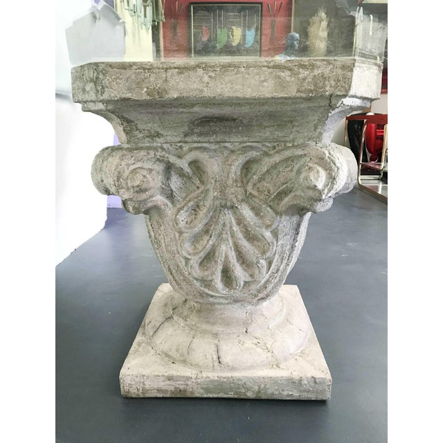 1970s Faux Stone Table For Sale In Palm Springs - Image 6 of 12