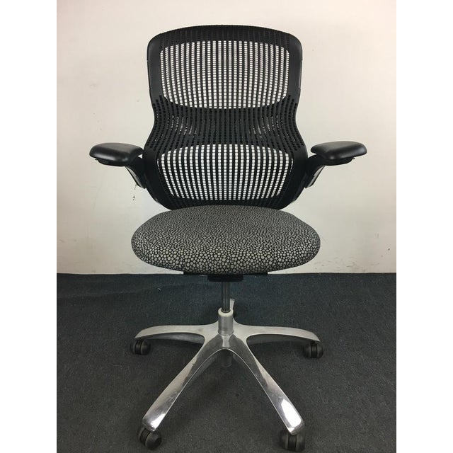 Knoll 'Generation' Metal & Plastic Office Chair - Image 2 of 8