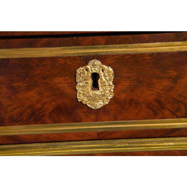 French Louis XVI-Style Chest of Drawers For Sale - Image 9 of 9