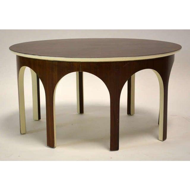 Mid-Century Modern Robsjohn-Gibbings Colosseum Cocktail Table For Sale - Image 3 of 4