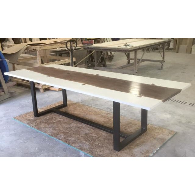 Not Yet Made - Made To Order Organic Modern Live Edge Dining Table For Sale - Image 5 of 5