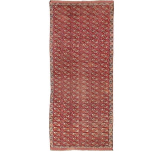 Extremely Large Antique Tekke Rug With Red Field For Sale