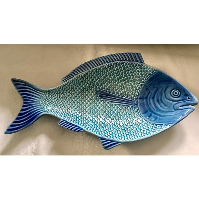 Portuguese Fish Shaped Platter - Image 3 of 7