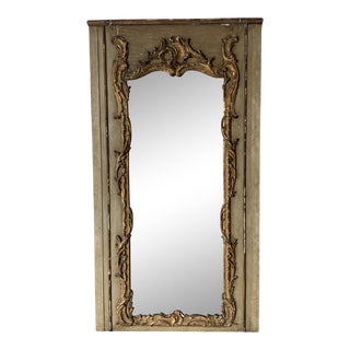 Antique French Door With Mirror For Sale