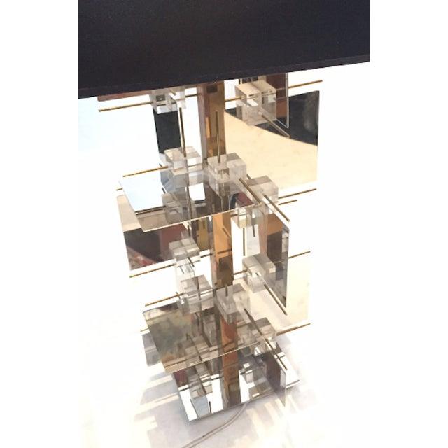 1960s Gaetano Sciolari Sculptural Table Lamp - Image 4 of 5