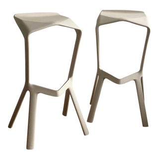 Constant Grcic Miura Bar Stools - a Pair For Sale
