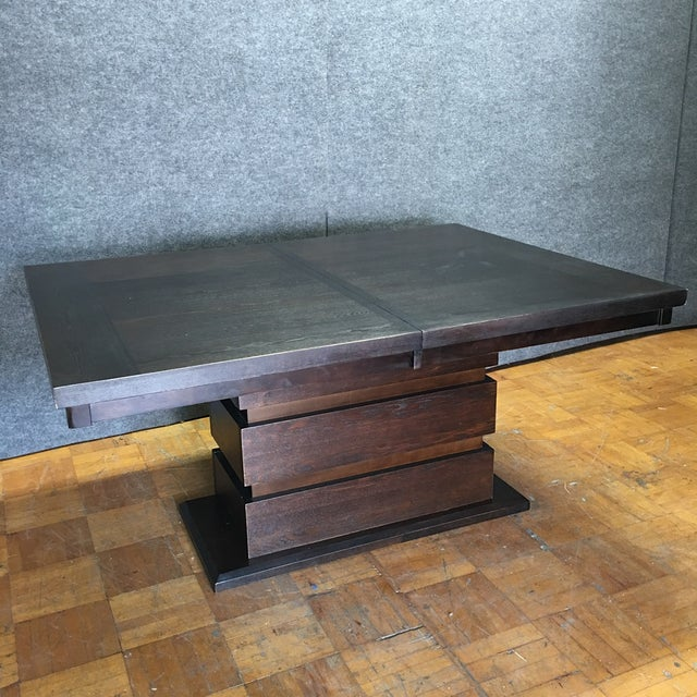 Tanager Expandable Dining Table in Espresso - Image 3 of 8