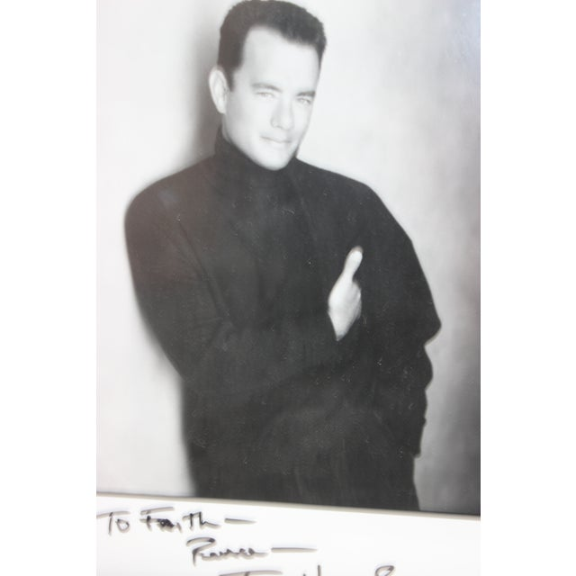 Vintage Tom Hanks 1980 Photograph Signed to Paul Newman's Personal Secretary For Sale - Image 4 of 10