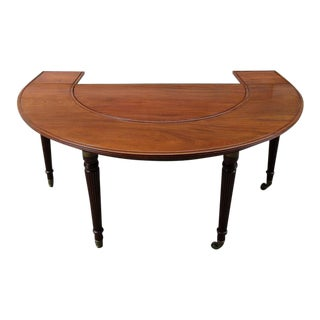 Early 19th Century English Regency Mahogany Social Table Attributed to Gillows For Sale