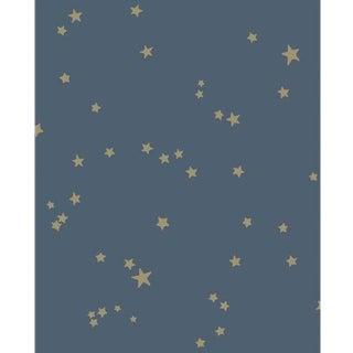 Cole & Son Stars Wallpaper Roll - Midnight Blu For Sale