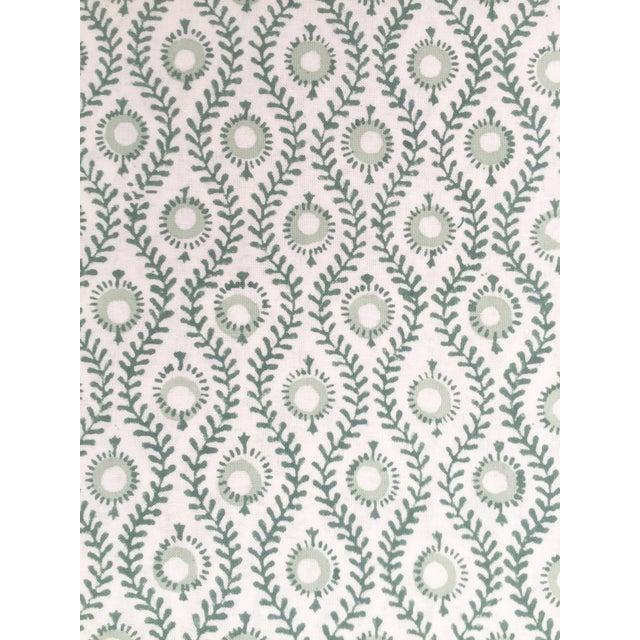 European Handmade Block Print Tablecloth - Image 4 of 7
