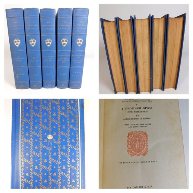 Harvard Classics Book Collection - Set of 46 - Image 6 of 11