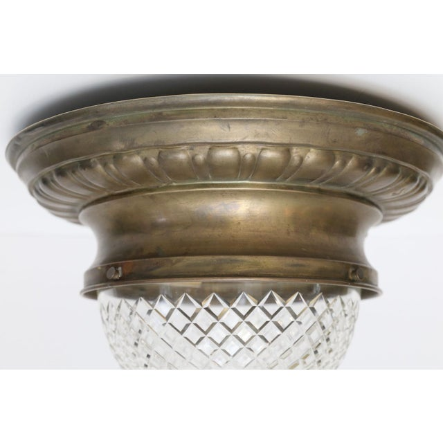 Repousse Flush Mount Light For Sale - Image 10 of 11