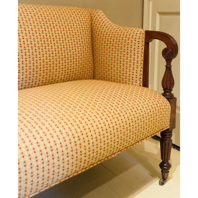 Early 19th Century Sheraton Scroll Arm Sofa, Circa:1815, New England For Sale - Image 5 of 9