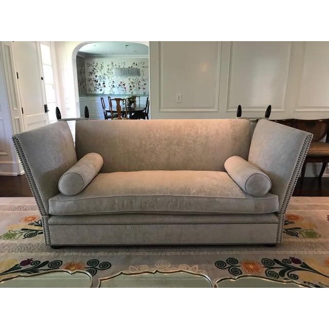 George Smith Light Silver Grey Sofa - Image 3 of 9