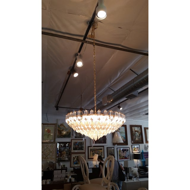 Paolo Venini for Naurelle Vintage Murano Chandelier - Image 3 of 5