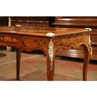 Early 19th Century French Louis XV Marquetry Lady's Desk With Bronze Mounts Preview