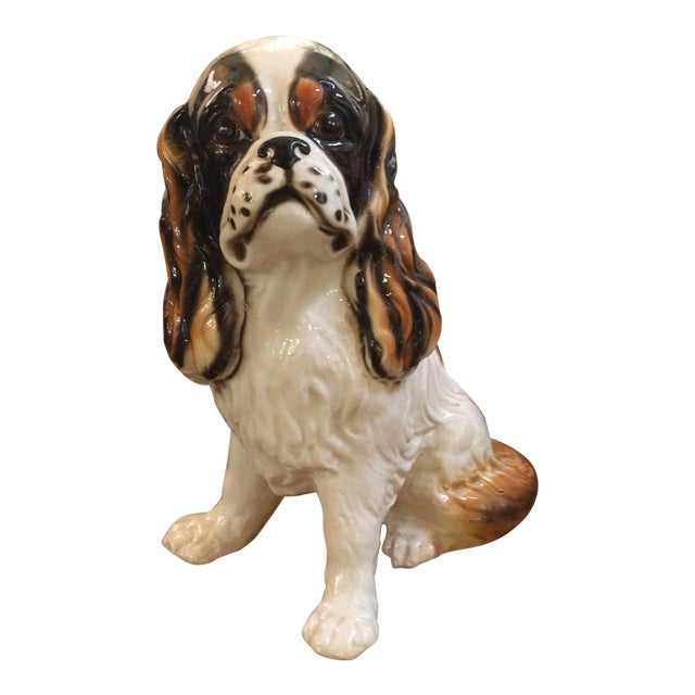 King Cavalier Spaniel Statue For Sale