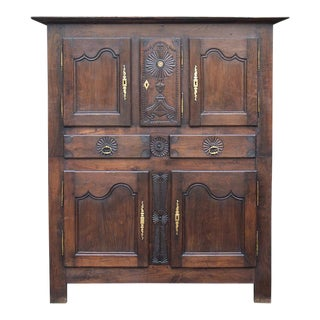 18th Century French Reliquary Cabinet For Sale