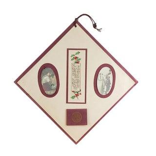 1913 Christmas Calendar & Photographs For Sale