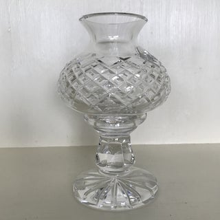 Waterford Crystal Hurricane Style Candle Holder - 2 Piece Preview