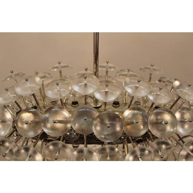 Metal Sputnik Chandelier, Zepelin For Sale - Image 7 of 11