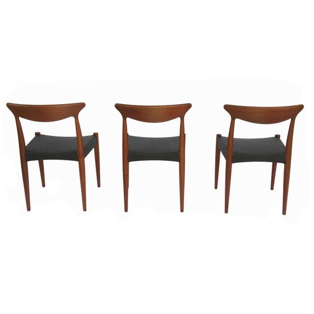 Wood 1960's Danish Mid-Century Modern Arne Hovmand-Olsen Model Mk 310 Teak Dining Chairs - Set of 6 For Sale - Image 7 of 13